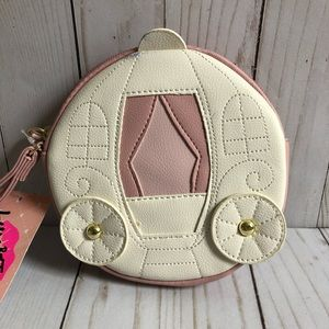 Luv Betsey Cinderella's carriage wristlet NWT